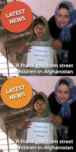 Latest News: A thank you from street children in Afghanistan