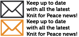 Keep up to date with all the latest Knit for Peace news!