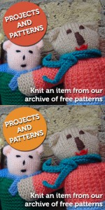 Projects and Patterns: Knit an item from our archive of free patterns