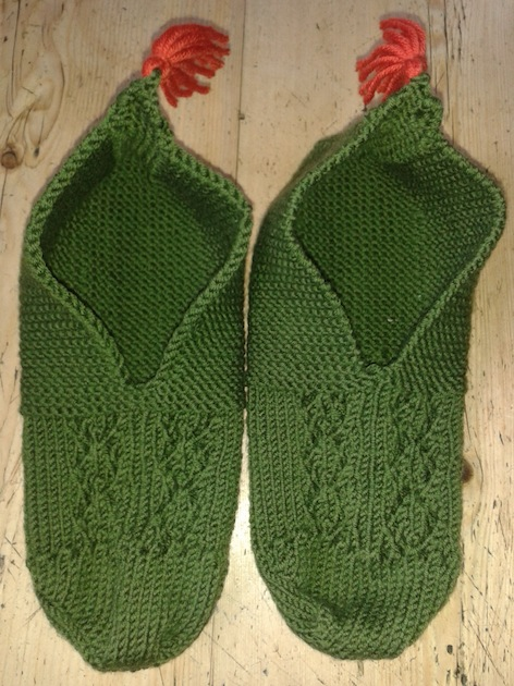 Turkish Slippers by Rosy Tucker