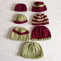 Top Down Preemie Hat
