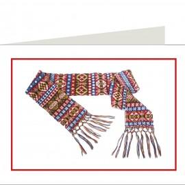 Woollen Scarf 3D