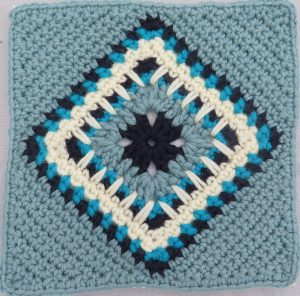 Tiled Crochet Square by Jane Crowfoot