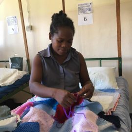 fff recovering from fistula surgery making blanket madagascar copy