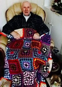 mr donnelly scotland with blanket