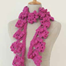 Edgy Crochet Scarf by Erika Knight