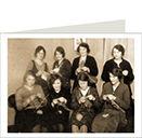 Knitting Circle 94 x 127mm