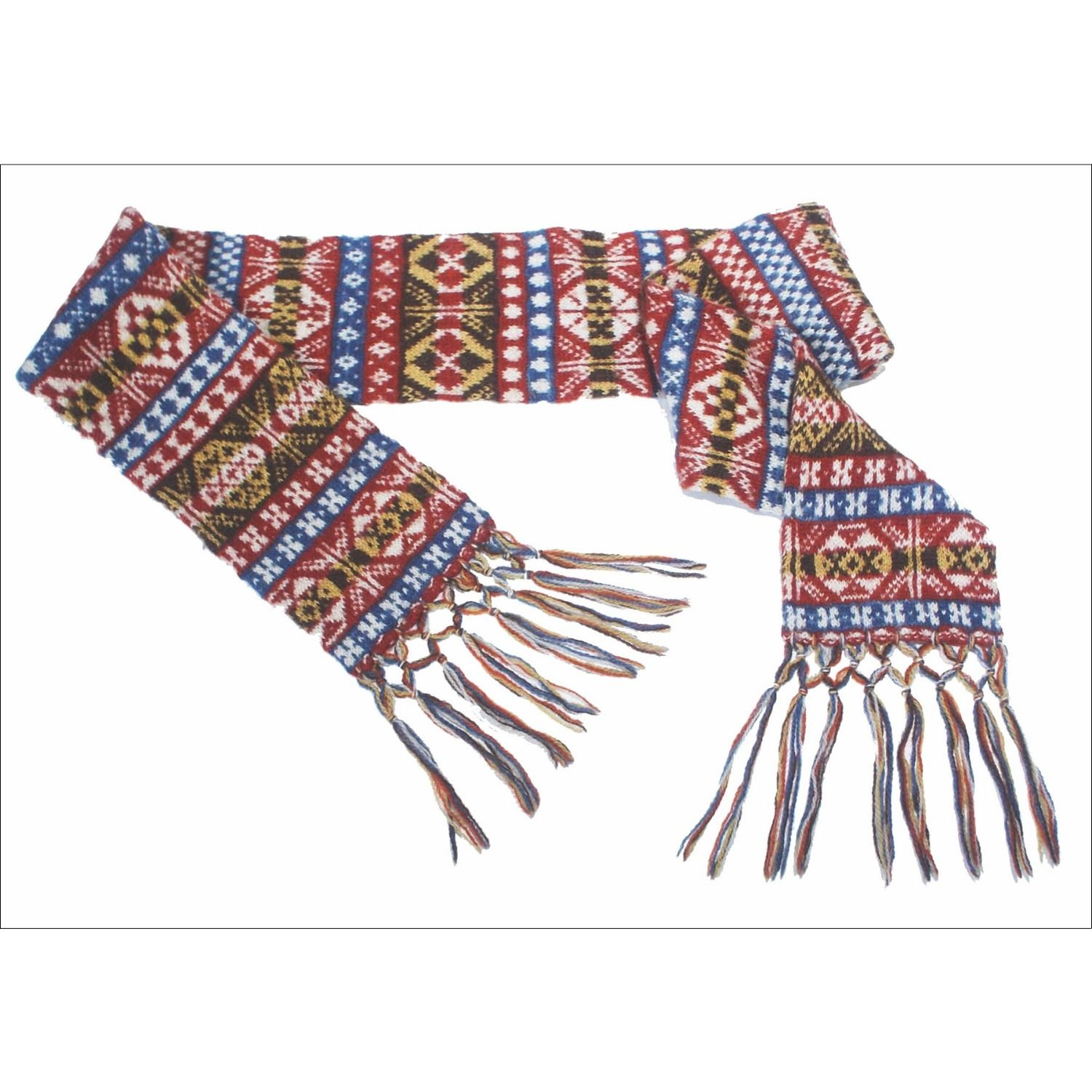 Woolen scarf square